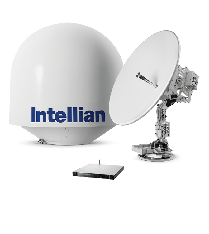 Intellian® v130g KU-band VSAT satelliet internet systeem