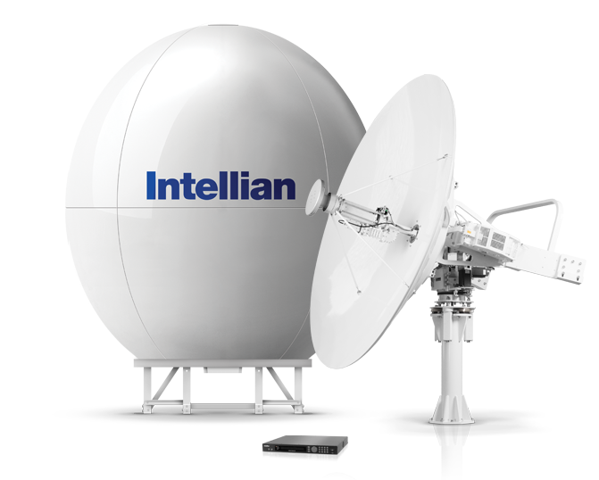 Intellian® v240 KU-band VSAT satelliet internet systeem